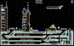 The Powder Toy - Destroyable city 5 (wth QRTZ) by dima-gord Sandbox, Empire State Building, Powder, Toy, Game, Travel, Litter Box, Viajes