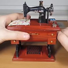Diy Discover Mini Sewing Machine Music Box Gift Table Home Decoration Diy Gifts For Friends Friend Birthday Gifts Gifts For Friends Bff Birthday Mini Things Cool Things To Buy Small Things Up Music Vintage Sewing Machines Gift Table Mini Things, Cool Things To Buy, Small Things, Sewing Hacks, Sewing Projects, Sewing Tutorials, Video Tutorials, Sewing Patterns, Up Music