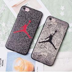 iPhone7/7 plusケース ジョーダン 薄型 運動風 AIR Jordan アイフォン6s/6s plusカバー 浮き彫り ペアケース 激安