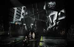 Emil and the Detectives - National Theatre - Animation and projection design by 59