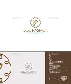 Dog Fashion - Animals Logo Templates Download here : https://graphicriver.net/item/dog-fashion/18154100?s_rank=85&ref=Al-fatih