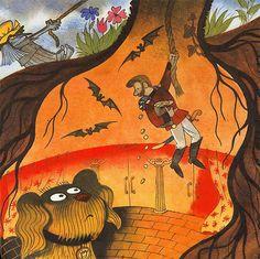 """.Иллюстратор Виктор Чижиков.Автор Г.Х.Андерсен.Сказка """"Огниво"""".Страна СССР, Россия.Год издания 1975.Издательство Малыш.Купить книгу........................................."""