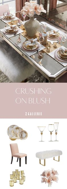 Everything luxe and sparkly to throw a chic shindig for your favorite ladies. Room Interior, Interior Design Living Room, Living Room Decor, Bedroom Decor, Dining Room, Stylish Home Decor, Affordable Home Decor, Casa Magna, Paint Colors For Home