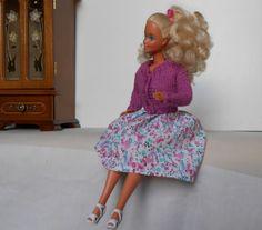 Barbie outfit fatto a mano gonna body e di lepropostedimari
