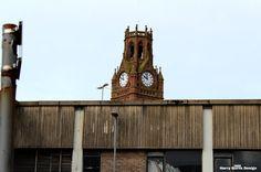 Town Clock Tower Photography - Harry Burns Design #photo #clocktower #town
