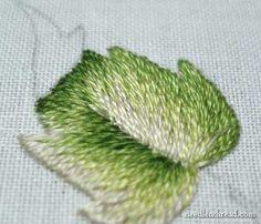 Long & Short Stitch Shading Lessons