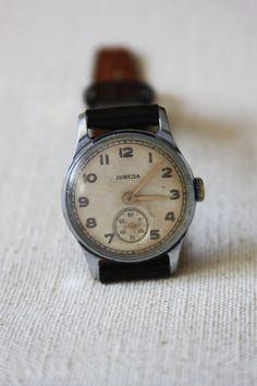 Vintage Soviet 'Pobeda' Watch