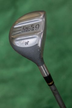 King Cobra 26 degree 9 wood fairway metal - used golf club #KingCobra