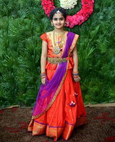 Kids Saree, Kids Lehenga Choli, Kids Lehanga, Anarkali, Kids Dress Wear, Dresses Kids Girl, Kids Outfits, Kids Gown, Kids Wear