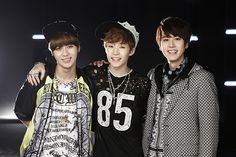 Taemin, Kyuhyun, and Henry <3