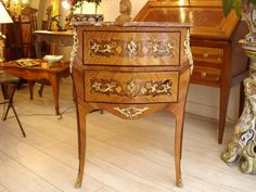 Little commode Louis XV style 19th century .For sale on Proantic by Au chevalier Bayard #antiques #furniture