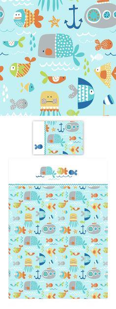 wendy kendall designs – freelance surface pattern designer » sea life