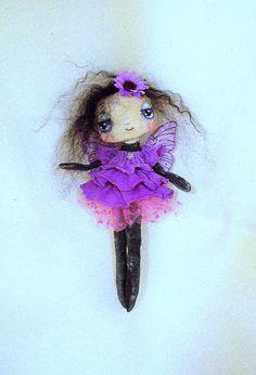My Lil Butterfly Art Doll by Suzie Hayward