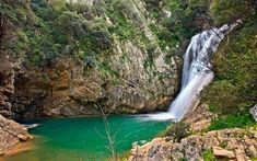 ΠΟΛΥΛΙΜΝΙΟ ΜΕΣΣΗΝΙΑ Greece, Waterfall, Travel, Outdoor, Colors, Greece Country, Outdoors, Viajes, Waterfalls