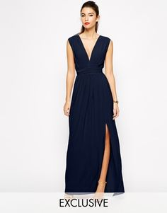 Another Asos potential. This is at least a long dress which will be nice in winter I think but it does have a slit. I am not entirely convinced (but that is because I am not personally confident enough to wear one). What do you think? Available from UK size 8 - 14. £32.00