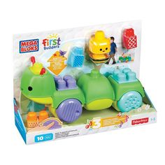 Mega Bloks First Builder 'Move n' Groove Caterpillar, Multicolor