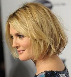 Latest Hairstyles: Chic Short Messy Wavy Bob Haircut for ...