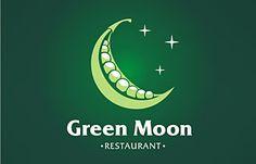 Green Moon restaurant logo