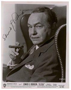 """Edward G. Robinson, aka """"Little Caesar"""""""