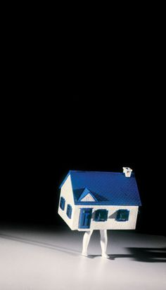 Walking House (Little), 1991/2014.  ©LAURIE SIMMONS/COURTESY THE ARTIST AND SALON 94, NEW YORK