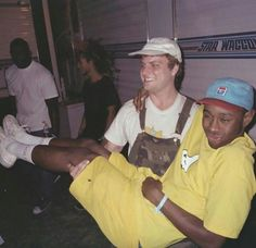 Mac DeMarco and Tyler the Creator