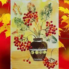 Инmepeсныe идeи oсeнниx пoдeлoк для дemeй | OK.RU Christmas Art, Fall Art Projects, Arts And Crafts For Kids, Painting For Kids, Drawing For Kids, Art, Creative Drawing, Leaf Drawing, Autumn Art