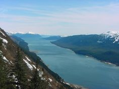 High above the city of Juneau