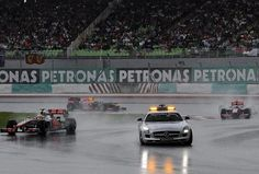 Malaysian Grand Prix completes 10 years without Mercedes AMG safety car deployment: 2012 heavy rainfall changes that