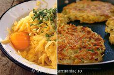 Clatite de cartofi ~ bucatar maniac...patattepannekoekjes maw....