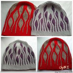 Maybe try as a double knit? Poncho Knitting Patterns, Knitting Stitches, Hand Knitting, Hand Knitted Sweaters, Knitted Hats, Crochet Hats, Bead Crochet, Irish Crochet, Double Crochet