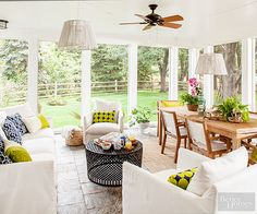 Reflect your personality with electric pops of color and textural light fixtures.