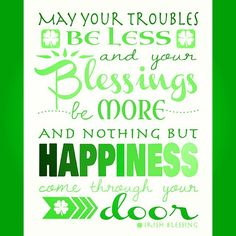 Wishing my #Family,  #Friends and #Followers a #HappyStPatricksDay tomorrow…