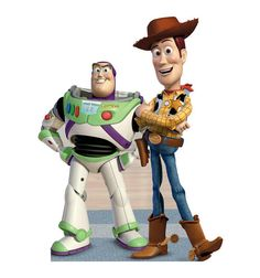"Opentip.com: Advanced Graphics Buzz and Woody (A Toy Story) - 45"" x 66"" Cardboard Standup"