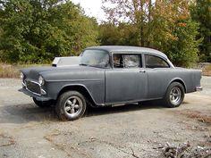 """Two Lane Blacktop"" 55 Chevy 454 2x4bbl TunnelRam BBC/M22 4speed/4.88 locker axle"