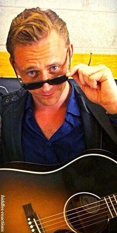 Mr. Hiddleston channeling his inner Mr. Williams.
