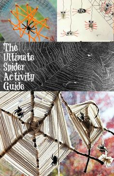 Spider Web Crafts and Activities :: The Ultimate Guide