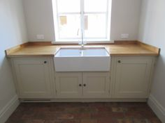 We specialise in bespoke kitchens and joinery, fine interiors and renovation works. Utility Sink, Bespoke Kitchens, Bathroom Interior Design, Joinery, Cupboard, Storage, Home Decor, Carving, Clothes Stand