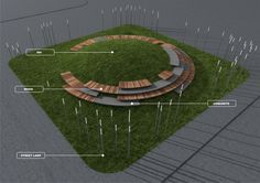 Alaverdashvili, Tengiz - Project - Green Hill - Rethinking Playground competition. First Prize - Image-6