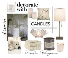"""dreaming"" by travlingal ❤ liked on Polyvore featuring interior, interiors, interior design, home, home decor, interior decorating, Jonathan Adler, Berkshire, Maison Margiela and Dot & Bo"