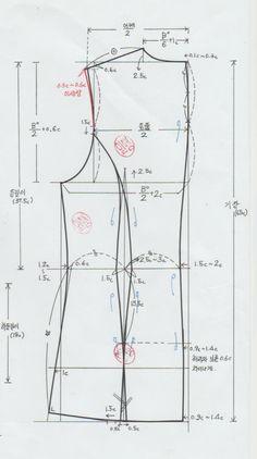 Gilda's media content and analytics Dress Making Patterns, Coat Patterns, Blouse Patterns, Pattern Making, Clothing Patterns, Sewing Patterns, Pattern Cutting, T Shirt Sewing Pattern, Pattern Drafting