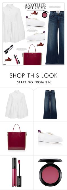 """Weekend Love"" by marion-fashionista-diva-miller ❤ liked on Polyvore featuring CO, Frame Denim, Rochas, Eytys, MAKE UP FOR EVER, MAC Cosmetics, Christian Dior, weekendstyle, weekendlove and weekengirl"