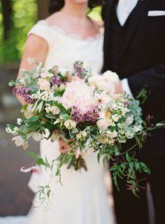 Romantic + Elegant Outdoor Garden Wedding - http://www.stylemepretty.com/2015/08/07/romantic-elegant-outdoor-garden-wedding/