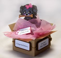 A Star For Chiemi: Card in a box tutorial