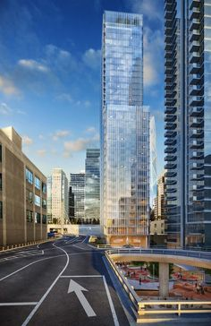 Renzo Piano Designs 36-Story Hotel and Apartment Tower in San Francisco,© Steelblue / Renzo Piano Building Workshop. Courtesy San Francisco Planning Department