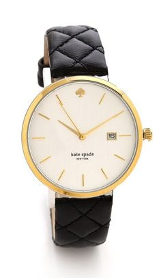 Kate Spade watch ~ Would go nicely with the flats  Repin & Follow my pins for a FOLLOWBACK!
