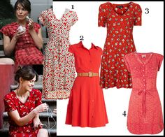 Get Keira Knightley's Retro Red Dress From 'Begin Again'