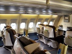 First class airline, airplane interior, business class, ways to travel, air Ways To Travel, Packing Tips For Travel, First Class Airline, Airplane Interior, Bali Holidays, By Plane, Business Class, Air Travel, Africa Travel
