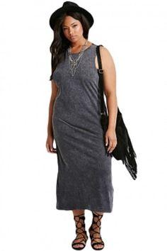 Summer Overalls Plus Size Cutout-Back Women Sexy Evening Midi Dress  Sleeveless e6912ae6891a