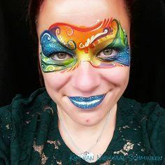 Rio 2016 mask facepaint