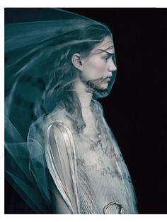 È ALTA MODA: Frida Westerlund by Paolo Roversi for Vogue Italia March 2016 - Valentino Spring 2016 Haute Couture